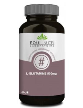 L-Glutamine 500 mg Equi-Nutri - 60 gélules abcbeauté intégrité intestinale