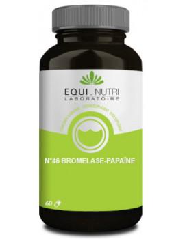 Bromelase Papaïne Equi-Nutri - 60 gélules abcbeaute enzymes