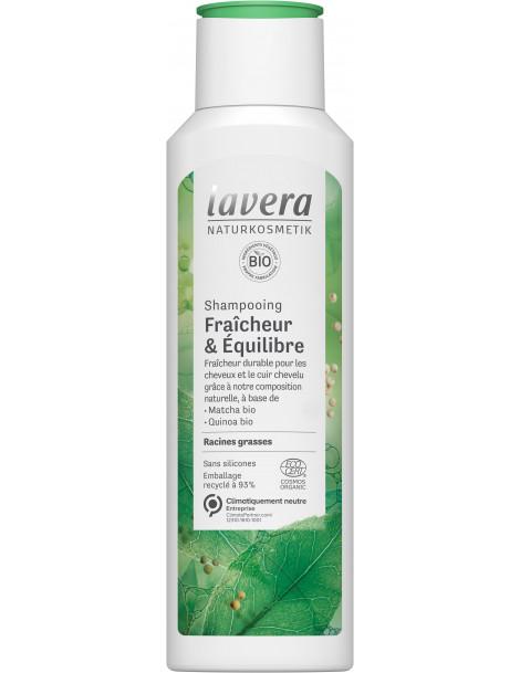 Shampooing fraicheur et équilibre 250ml LAVERA, shampoing bio, abcbeauté