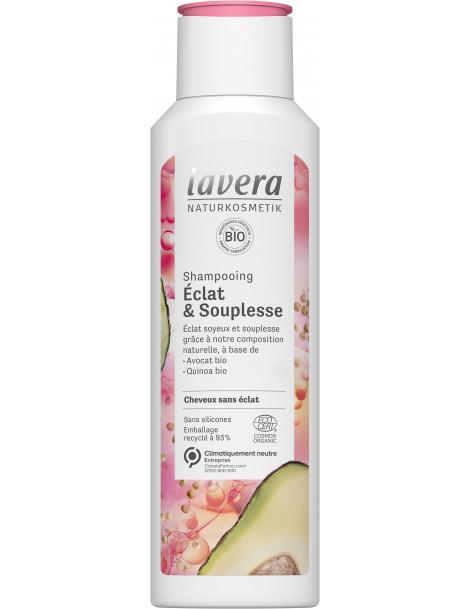 Shampooing Eclat et Souplesse 250ml Lavera, bio shanpoing naturel abcbeauté
