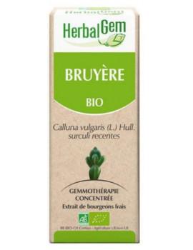 Bruyère Bio Flacon compte gouttes 50ml Herbalgem antiseptique urinaire Abcbeauté