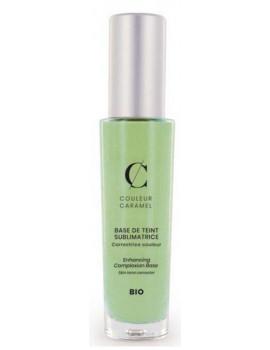 Base de teint sublimatrice 30 ml No 25 -  Verte Couleur Caramel rougeurs imperfection de teinte Abcbeauté