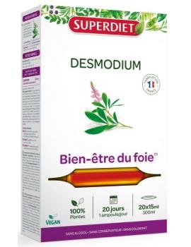 Desmodium bio 20 ampoules Super Diet Super Diet,  Plantes en ampoules,  Phytothérapie,  abcBeauté