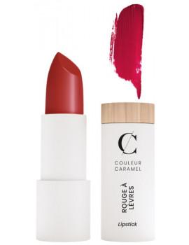 Rouge à lèvres Naturel Mat No 120 Rouge Sombre 3.5g Couleur Caramel maquillage bio lèvres Abcbeauté