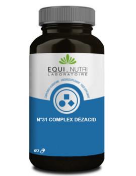 Dezacid No 31 - 60 gelules Equi - Nutri