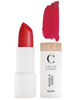 Rouge à lèvres Naturel Mat No 122 Rouge Groseille 3.5 gr Couleur Caramel hydratation et beauté abcbeauté