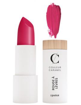 Rouge à lèvres Mat No 123 Rose Vif 3.5gr - Couleur Caramel rose moderne et vif maquillage bio Abcbeauté