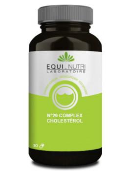 Complex cholesterol No 29 30 gélules végétales Equi Nutri coenzyme q10 abcbeauté