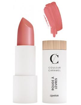 Rouge à lèvres mat No 284 Nude rosé doux 3.5 gr Couleur Caramel maquillage minéral et bio transparent Abcbeauté