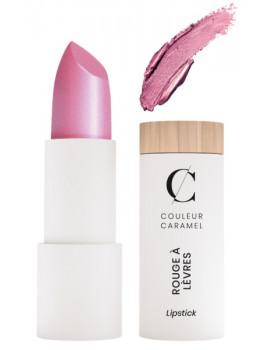 Rouge à lèvres nacré métal No 206 framboise 3.5gr Couleur Caramel appétissant et original Abcbeauté maquillage minéral