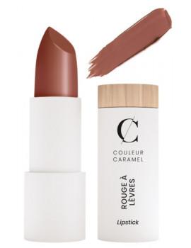 Rouge à lèvres satiné No 211 Brun nude 3.5gr Couleur Caramel nue transparente maquillage bio Abcbeauté