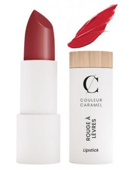 Rouge à lèvres satiné No 223 vrai rouge 3.5gr Couleur Caramel classique brillant et sophistiqué Abcbeauté maquillage