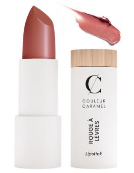 Rouge à lèvres nacré No 224 brun rouille 3.5gr Couleur Caramel teinte chaude Abcbeauté maquillage
