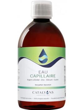 Eau Capillaire Recharge 500 ml Catalyons zinc silicium cuivre Abcbeauté cosmétique