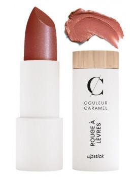 Rouge à lèvres nacré No 237 Sublime pêcher 3.5gr Couleur Caramel glossy et moderne Abcbeauté maquillage bio