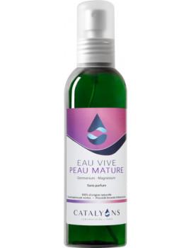 Eau Vive Peaux Matures 125 ml Catalyons eau cosmétique anti-âge Abcbeauté