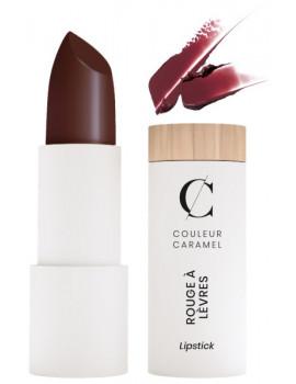 Rouge à lèvres nacré No 240 Baiser violet Couleur caramel mystérieuse et sensuelle maquillage bio Abcbeauté