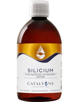 Oligo élément SILICIUM acide orthosilicique 500 ml Catalyons cartilage Abcbeauté
