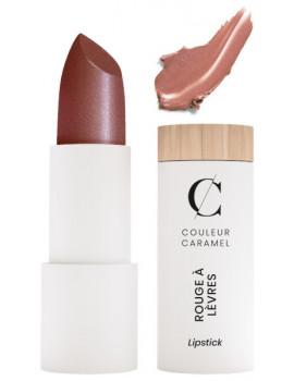 Rouge à lèvres satiné No 242 Tahiti 3.5gr Couleur Caramel maquillage bio Abcbeauté nacré