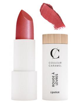 Rouge à lèvres Glossy No 244 rouge Matriochka 3.5 gr Couleur Caramel maquillage minéral poupée russe Abcbeauté