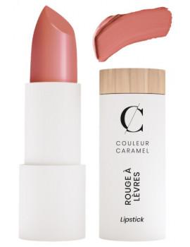 Rouge à lèvres Satiné No 254 Rose naturel 3.5gr Couleur Caramel satiné brillant classe Abcbeauté maquillage