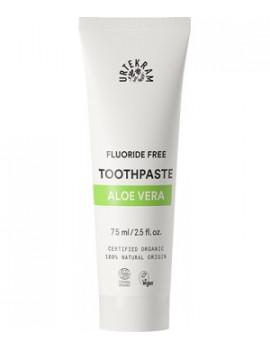 Dentifrice à l'Aloé Véra 75 ml Urtekram blancheur et hygiène bucco dentaire Abcbeauté