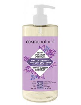 Gel intime Confort quotidien 500 ml Cosmo Naturel flore vaginale acide Abcbeauté hygiène