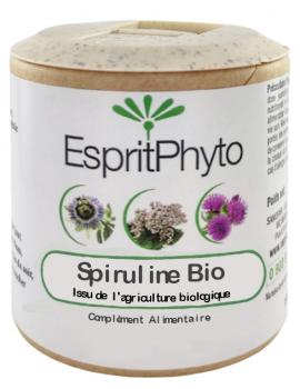 Spiruline BIO 90 gélules EspritPhyto phycocyanine Abcbeauté