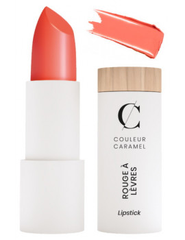Rouge à lèvres Naturel Brillant No 260 Corail 3.5g Couleur Caramel satiné brillant tendance Abcbeauté maquillage