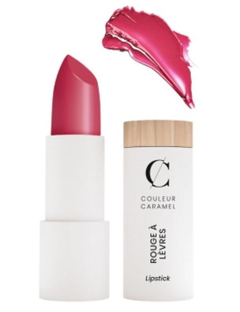 Rouge à lèvres satiné No 262 Fuchsia 3.5g - Couleur Caramel brillant différent original Abcbeauté maquillage