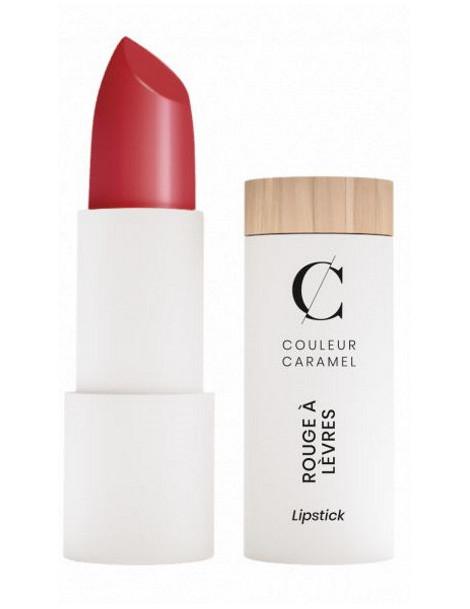 Rouge à lèvres Satiné No 263 Rouge profond 3.5gr Couleur Caramel Abcbeauté maquillage bio