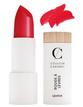 Rouge à lèvres satiné No 280 vrai rouge clair 3.5gr Couleur Caramel maquillage minéral ABCBEAUTE