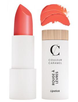 Rouge à lèvres glossy No 501 Mandarine 3.5gr Couleur Caramel maquillage minéral trendy glossy branché Abcbeauté
