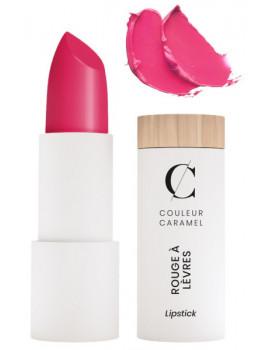Rouge à lèvres glossy No 502 Rose flash 3.5gr Couleur Caramel trendy moderne dynamique Abcbeauté maquillage