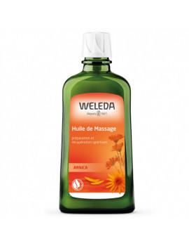 Huile de massage à l'Arnica  200ml Weleda,  Tensions musculaires, huile de massage,  abcBeauté.