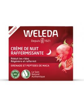 Crème de Nuit raffermissante à la Grenade 30 ml Weleda fermeté et anti-âge Abcbeauté