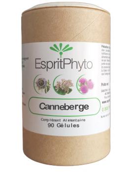 Canneberge Cranberry 90 gélules EspritPhyto problèmes urinaires Abcbeauté