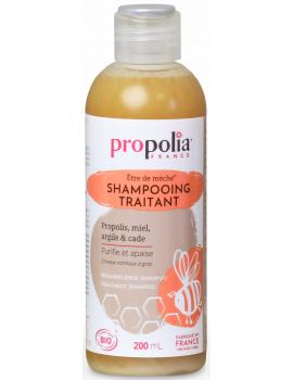 Shampooing traitant 200ml Propolia Abcbeauté Propolis Miel Argile et Cade