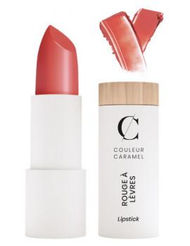 Rouge à lèvres satiné No 505 Nude orangé 3.5gr Couleur Caramel neutre naturel classe Abcbeauté maquillage