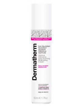 Soin quotidien hydratant apaisant tolérance optimale 50 ml Dermatherm peaux sensibles irritées Abcbeauté soin bio