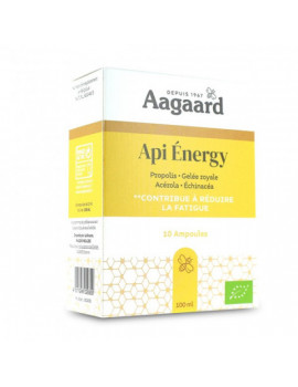 Api' Energy 10 ampoules Aagaard