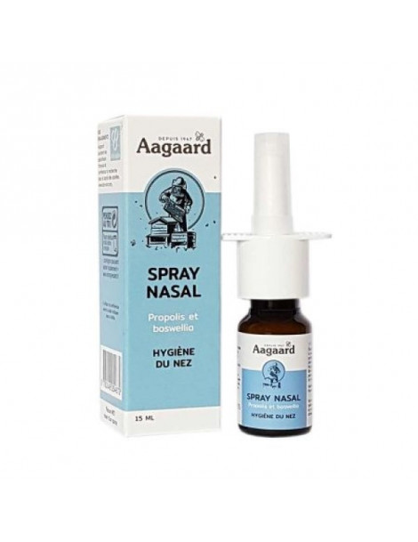 Spray nasal propolis et boswellia Flacon spray verre 15ml Aagaard