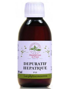 Phyto concentré Dépuratif Hépatique 200ml  Herboristerie de Paris foie digestion protection abcbeauté