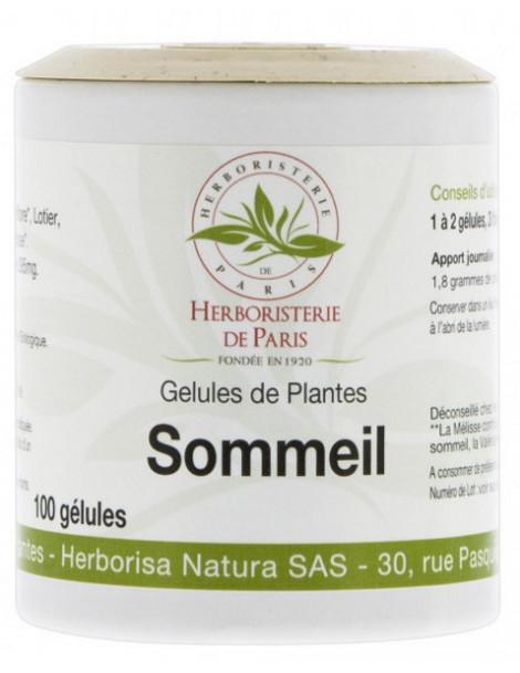 Sommeil Action 5 Plantes 100 gélules Herboristerie de Paris bras de morphée sérénité Abcbeauté Herboristerie