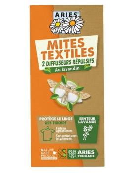 Protection Anti Mites Textiles 2 Diffuseurs répulsifs  Aries - produit d'entretien pour la maison abcbeauté