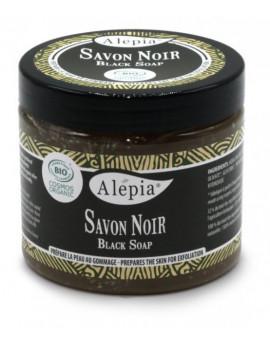 Savon Noir Black soap 200 ml Alepia