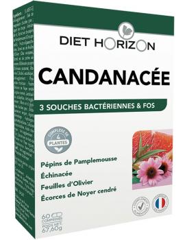 Candinacée Solution Candida Diet Horizon - 60 comprimés Abcbeauté