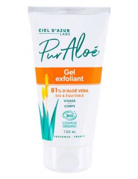 Gel Exfoliant Aloe Vera 150 ml Pur'Aloe, gel gommant visage, abcbeaute