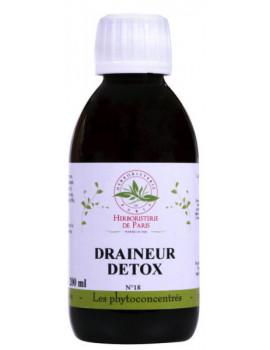 Phyto concentré Draineur Détox 200ml Herboristerie de Paris élimination pureté detox abcbeauté