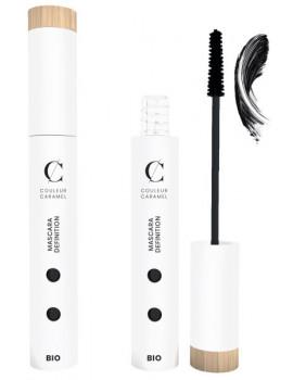 Mascara définition allongeant No 81 Extra noir 6ml Couleur Caramel macara noir bio allongeant abcbeauté maquillage